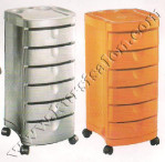 Trolley Ciak-Black White Orange